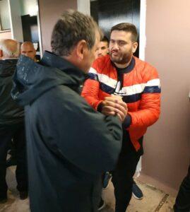 """Στα αποδυτήρια Ολυμπιακού Βόλου: """"Ευχαριστούμε ΠΑΕ Καλαμάτα & Παπαδημητρίου για φιλοξενία"""" (pics +video)"""