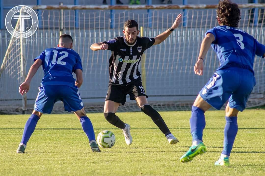 Επαιξε… δεξί μπακ στην Τρίγλια, ο Αλεξόπουλος!