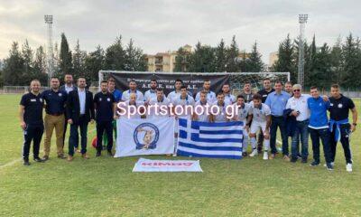 6-2 η ελληνική Αστυνομία (με Μάριο Μπιτσάνη) την Κυπριακή! 14