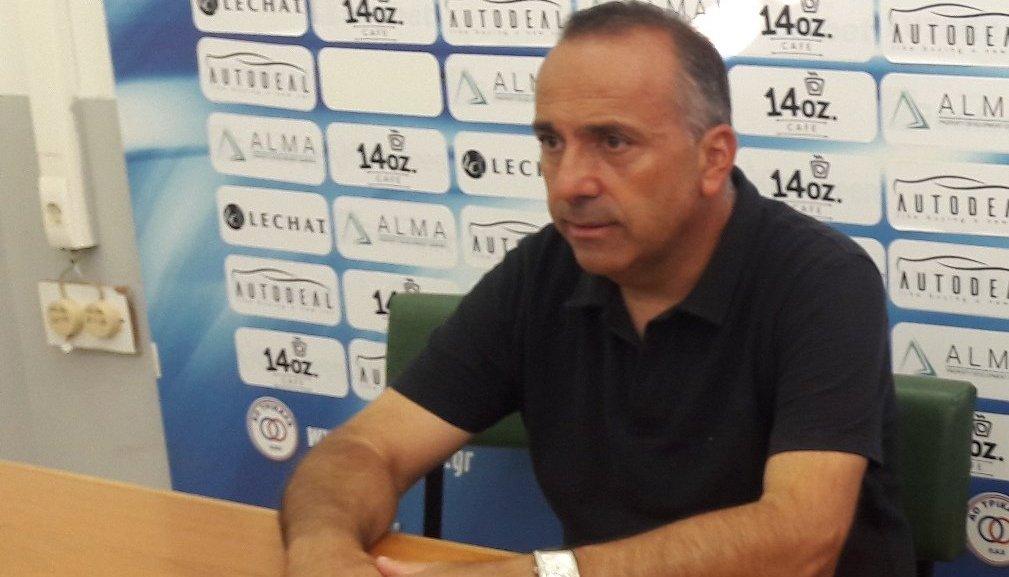 """Αμανατίδης: """"Νικήσαμε δίκαια στην Ηγουμενίτσα"""""""