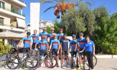 Συνάντηση ποδηλατών του Ευκλή και παράδοση σκυτάλης από τον Βεργετόπουλο στον Σταμάτη 18
