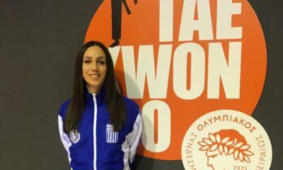 Ταεκβοντό: Με οδηγό τη Μεσσηνία Βίκυ Γραμματικοπούλου στη Βουλγαρία οι αθλητές της ΕΤΑΝΕ 5