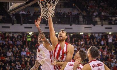 Ολυμπιακός - Αρμάνι 91-70: Highlights (video) 8