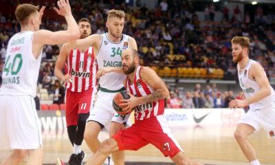 Ολυμπιακός-Ζαλγκίρις 83-74: Τα highlights (video) 14