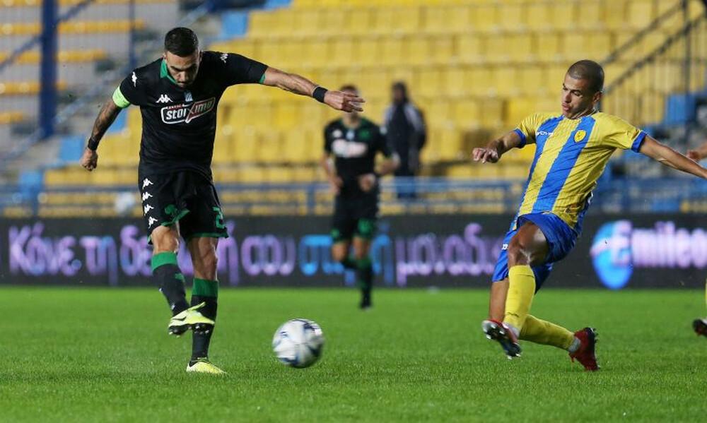 Παναιτωλικός – Παναθηναϊκός 0-0: «Μπλόκο» στο Αγρίνιο