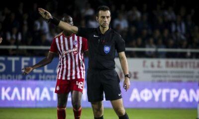 Super League 1: Ο Σέζος στο Ολυμπιακός - ΑΕΛ, ο Κουμπαράκης στο Πανιώνιος - ΠΑΟΚ 19
