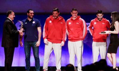 Βραβεία ΠΣΑΤ 2019: Κορυφαίοι αθλητές ο Τσιτσιπάς, Στεφανίδη, κορυφαία ομάδα το πόλο Ανδρών Ολυμπιακού 6