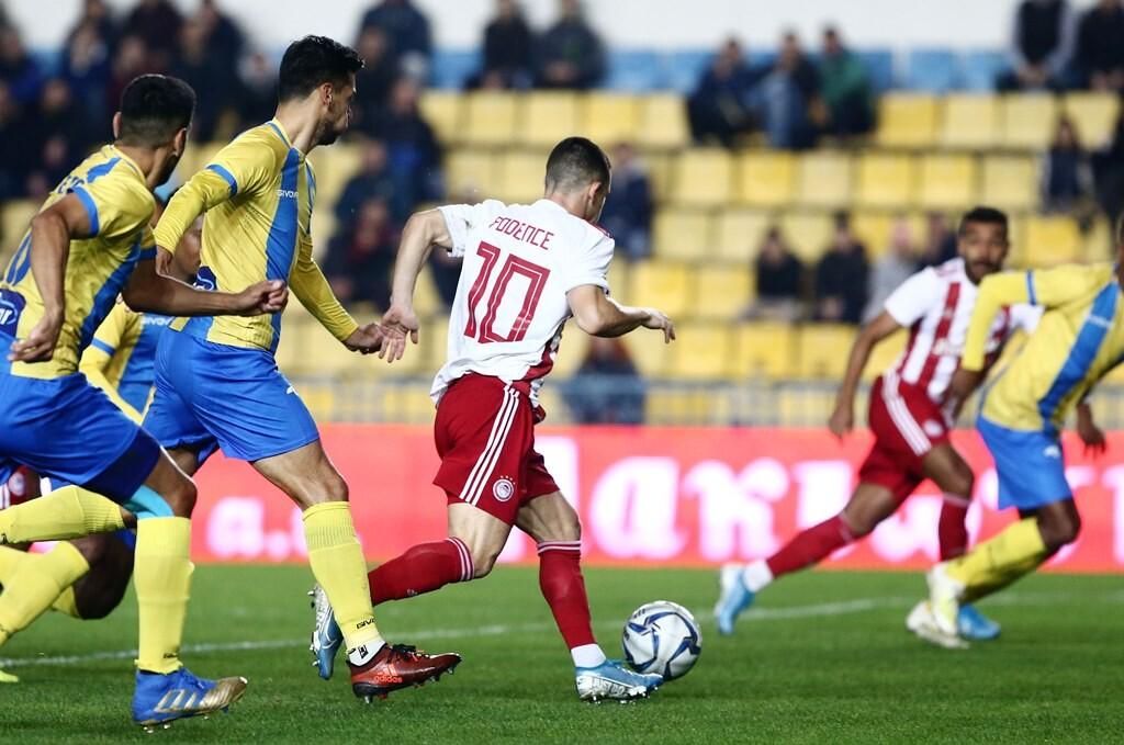 Παναιτωλικός-Ολυμπιακός 0-3: Τον… βύθισε με Ελ Αραμπί και βλέπει Ερυθρό Αστέρα