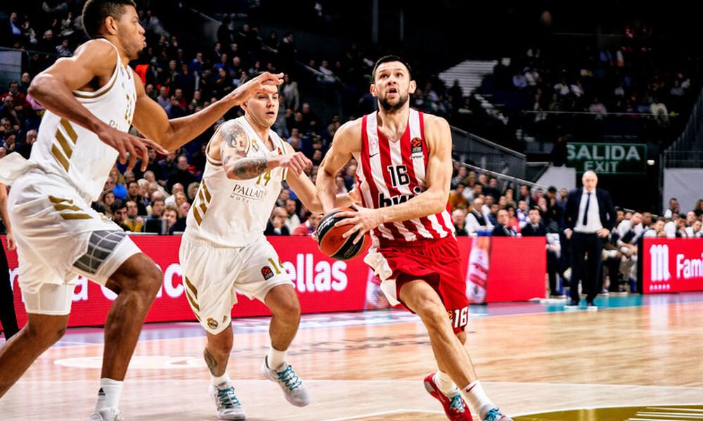 Ρεάλ-Ολυμπιακός 93-77: «Σφαλιάρα» στη Μαδρίτη