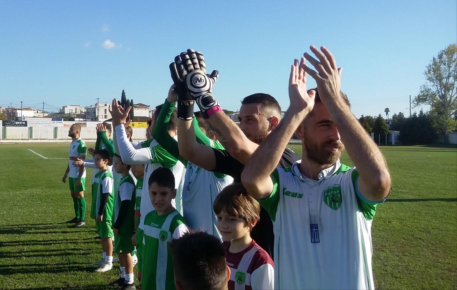 """ΠΑΟ Βάρδας – Πανηλειακός 1-0: Σημαντική νίκη για τους """"πράσινους"""""""