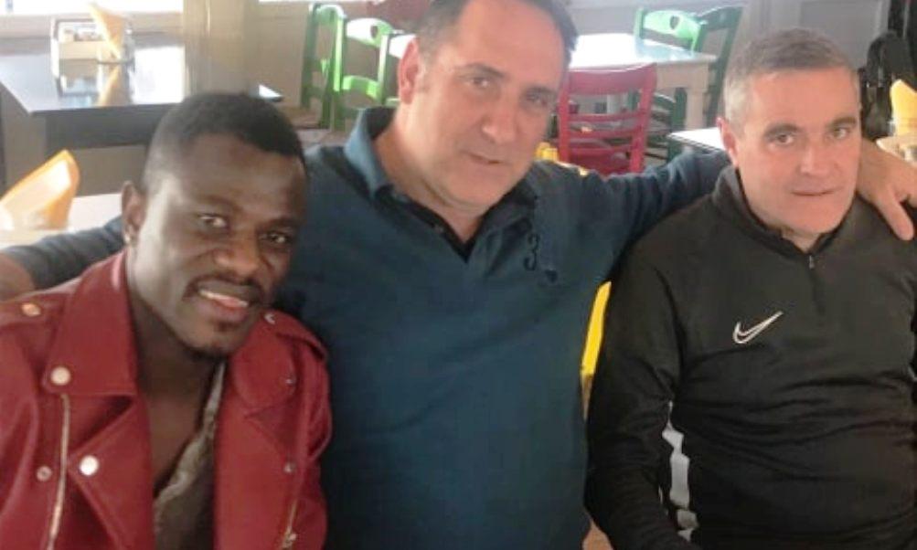 """Αιγάλεω: To γεύμα με τον Πολ Γουερέ, τον """"Καλαματιανό Πελέ""""! (+video)"""
