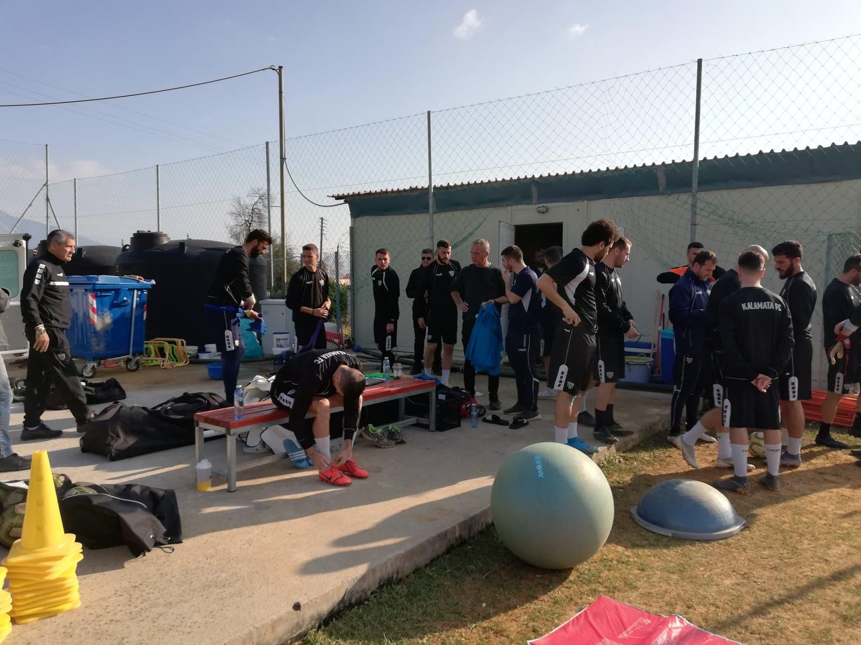 Καλαμάτα: Με 19 ποδοσφαιριστές η αποστολή στην Αθήνα