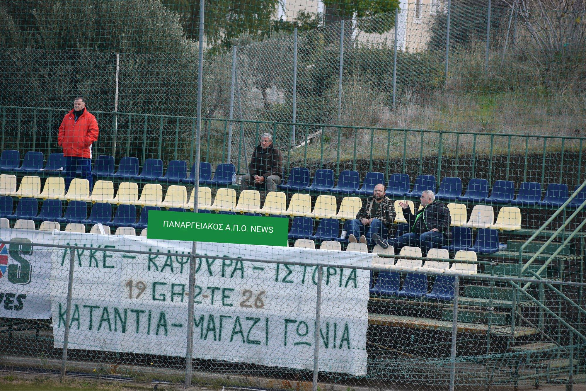 Πήρε λέει προπονητή ο Παναργειακός: Αργά πλέον για δάκρυα (και) στο Άργος…