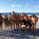 Με τσουχτερό κρύο έκοψαν την πίτα τους οι χειμερινοί κολυμβητές 7