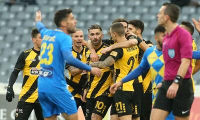 AEK-Παναιτωλικός 3-1: Το «καθάρισε» ο Βέρντε! 22