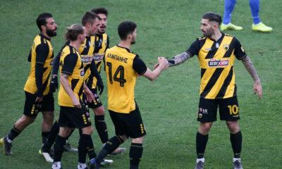 AEK - Παναιτωλικός 3-1: Τα γκολ και οι καλύτερες φάσεις (video) 24