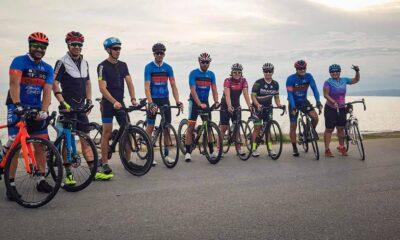 Τελευταία προπόνηση και ευχές από τους ποδηλάτες του Ευκλή 16