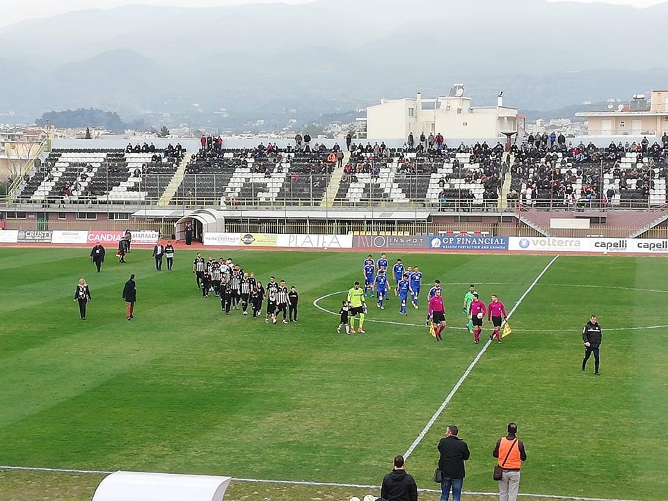 Football League: Πάτωσε η Μαύρη Θύελλα, στραβοπάτημα για Τρίκαλα