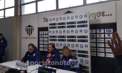 Η συνέντευξη Τύπου μετά το Καλαμάτα-Ολυμπιακός 0-2 για το Κύπελλο (video) 14