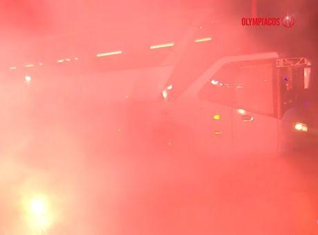 Κάηκε το Ηράκλειο για τον Ολυμπιακό (+video)