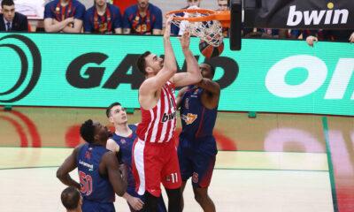Ολυμπιακός - Μπασκόνια 80-70: Highlights (video) 14