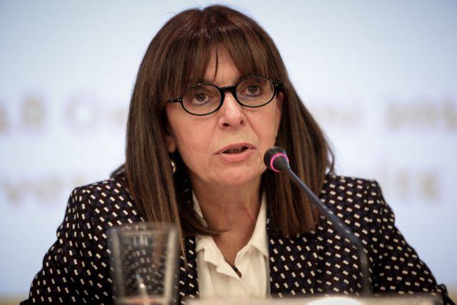 Η Αικατερίνη Σακελλαροπούλου νέα Πρόεδρος Δημοκρατίας με 261 ψήφους