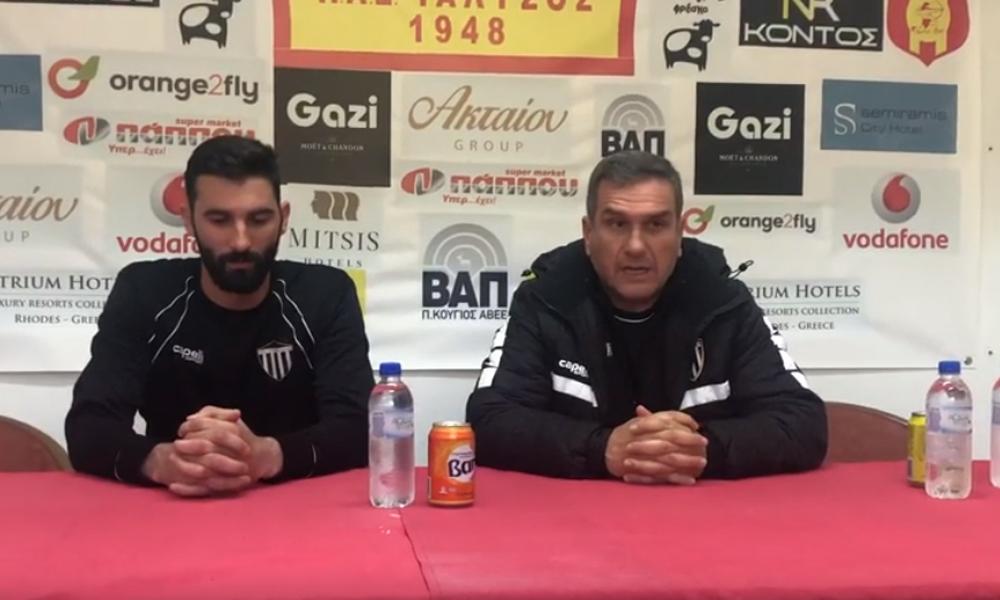 Η συνέντευξη Τύπου μετά το Ιάλυσος-Καλαμάτα 0-0 (videos)