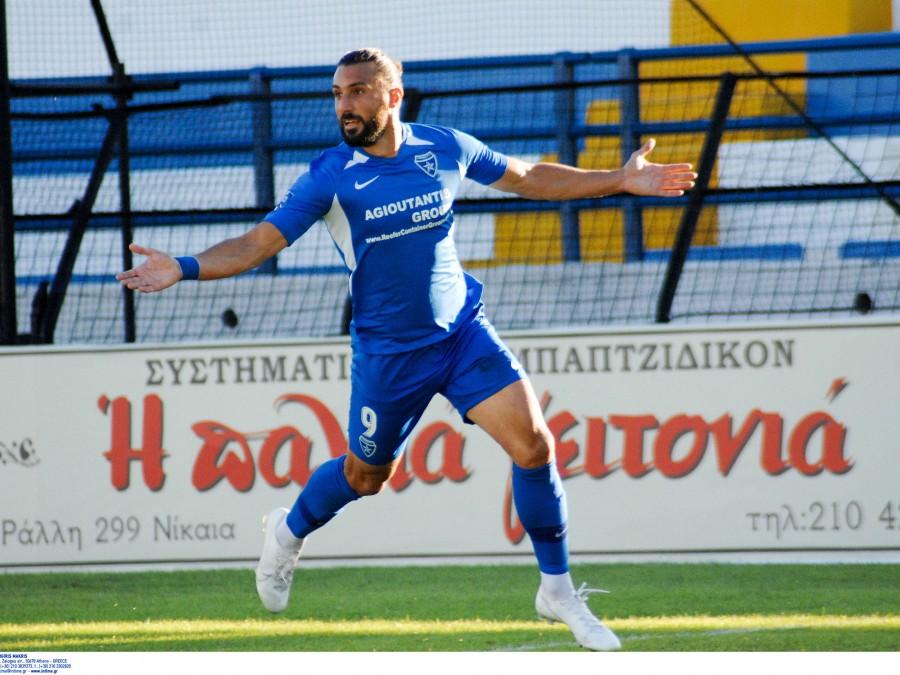 Πρώτος και 10 γκολ ο Κρητικός του Ιωνικού στους σκόρερ της Football League