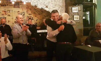 Συγκίνηση: Ο Γεωργούντζος αποθεώνει τον μεγάλο Μπιστικέα! (video) 7