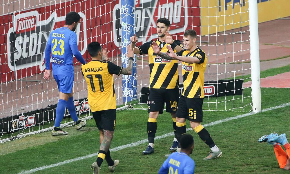 ΑΕΚ-Παναιτωλικός 4-0: Προκρίθηκε με… τεσσάρα (+video)