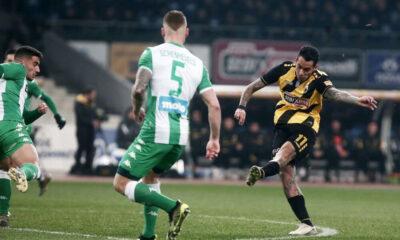 ΑΕΚ – Παναθηναϊκός 1-0: Με την κλάση του Αραούχο 21