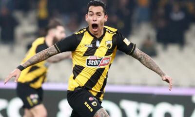 ΑΕΚ - Παναθηναϊκός 1-0: Το γκολ και οι φάσεις του αγώνα (video) 23