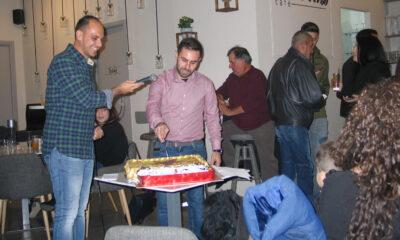 """ΑΣΤΕΡΑΣ ΒΑΛΥΡΑΣ F.C ΙΘΩΜΗΣ: Με επιτυχία η κοπή της πίτας στο """"AGORAcafe"""" (photos) 12"""