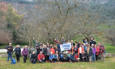 Ευκλής Καλαμάτας: Οι πεζοπόροι γνώρισαν το Κάστρο του Πηδήματος 14