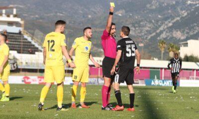 """Δεύτερος """"πεναλτάκιας"""" της Football League o Οσμάνατζιτς της Καλαμάτας 20"""