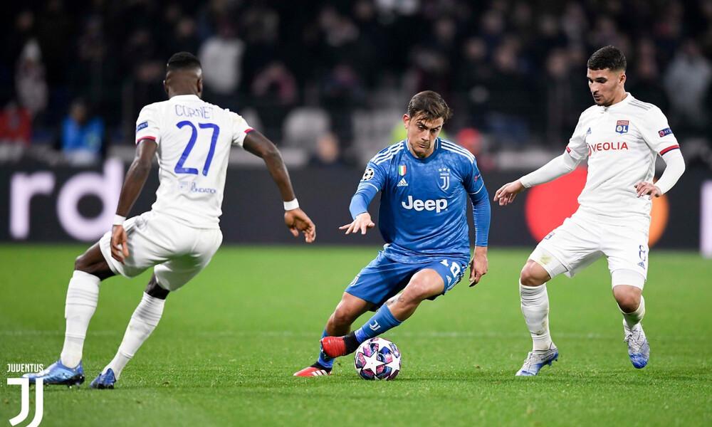 Λιόν – Γιουβέντους 1-0: Γαλλικό προβάδισμα