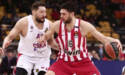 Βαθμολογία EuroLeague: Έβαλε σε μπελάδες την ΤΣΣΚΑ ο Ολυμπιακός 8