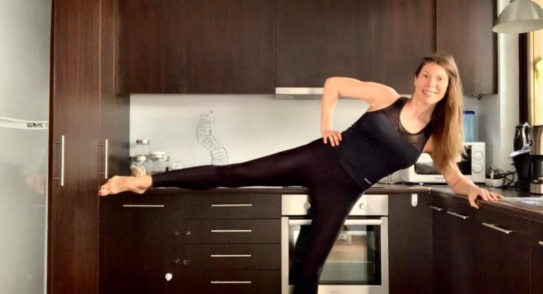 Γυμναστική στην κουζίνα για όλο το σώμα με την Χριστίνα Μαυρίδου