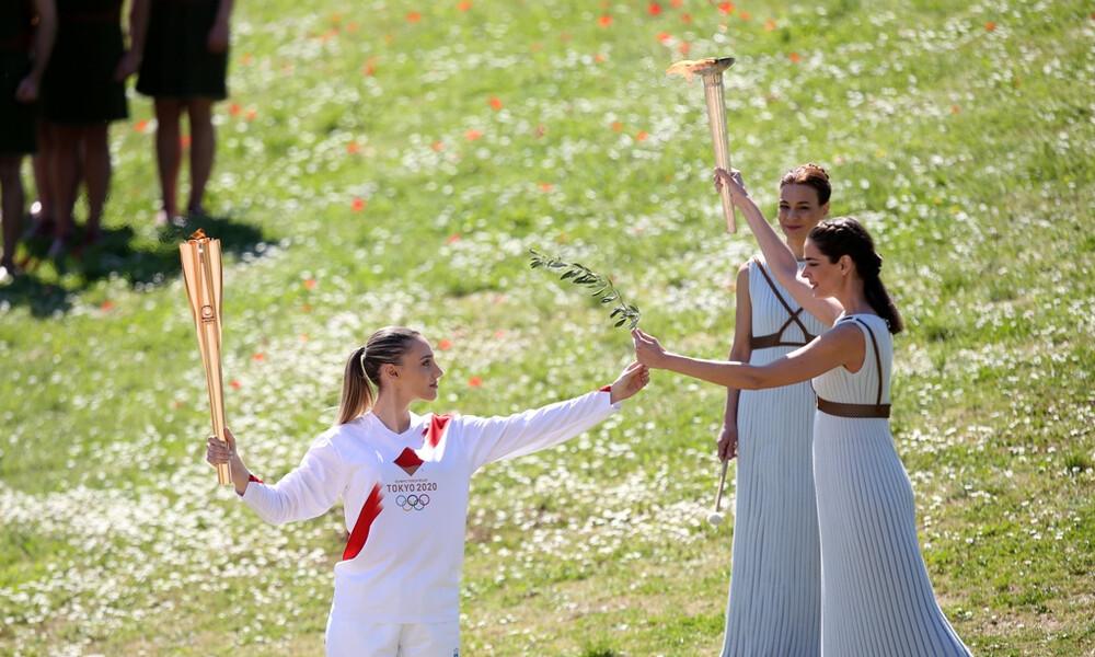 Αφή Ολυμπιακής Φλόγας: Ξεκίνησε το ταξίδι της – στη Μεσσηνία σήμερα (photos)