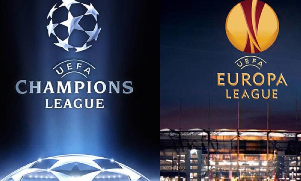 Αναβλήθηκαν οι τελικοί Champions League και Europa League