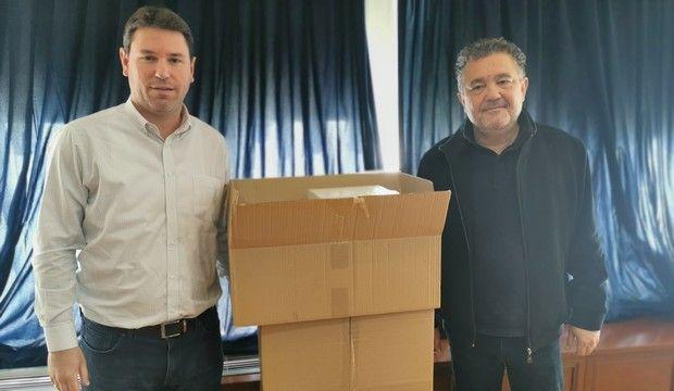 Κοροναϊός: Η οικογένεια Αντετοκούνμπο προσέφερε 10.000 μάσκες στον Δήμο Ζωγράφου