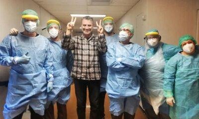Σωτήρης Γεωργούντζος, νοσοκομείο Ρίο