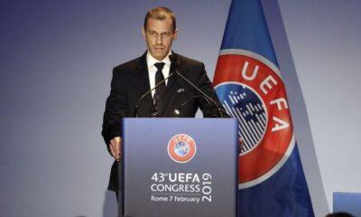 """Τσέφεριν: """"Το Champions και το Europa League πρέπει να τελειώσουν μέχρι τις 3 Αυγούστου"""" 12"""