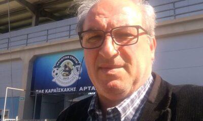 """Μπέκας: """"Καμία προσφυγή η ΑΕ Καραϊσκάκης"""" 14"""