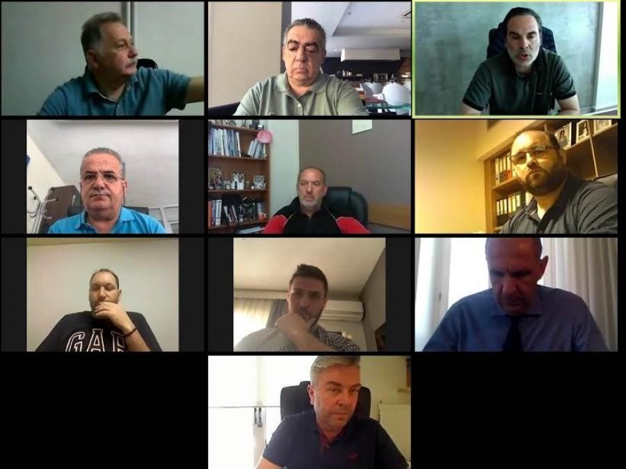 Γ' Εθνική: Τηλεδιάσκεψη με τους πρωταθλητές ο Γεραπετρίτης…