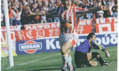 Αλεξανδρής, Ολυμπιακός-ΑΕΚ 2-0 1997