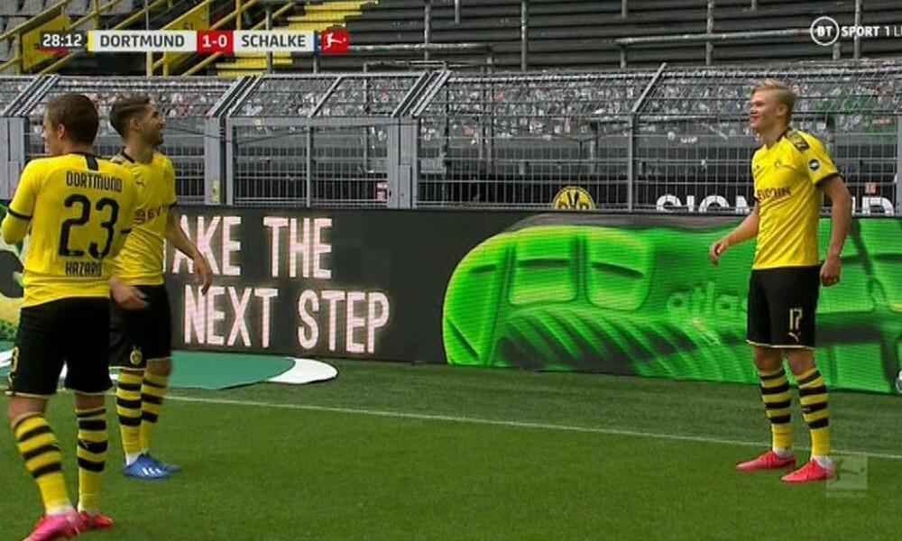 Πρώτο γκολ δια ποδός… Χάαλαντ στη Bundesliga (video)