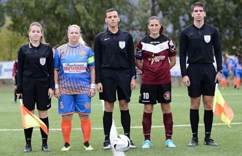"""Σταυρούλα Μαλαπάνη: """"Να συνηθίσουν πια όλοι τις γυναίκες στο ποδόσφαιρο""""! (pics)"""