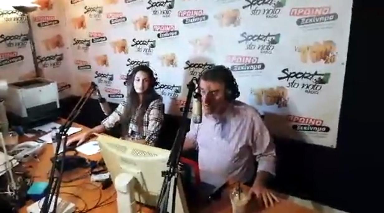 Δυναμική επιστροφή Sportstonoto Radio (video)