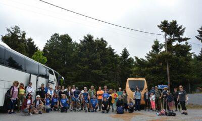 Συνάντηση ποδηλατών και πεζοπόρων του Ευκλή στο Νιχώρι Αρκαδίας 6